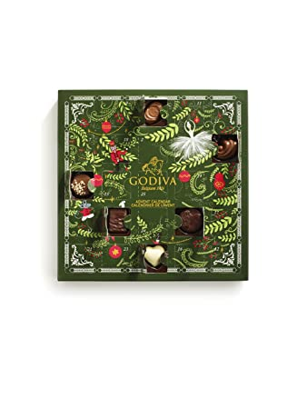 Godiva Advent Calendar.Godiva Chocolatier Advent Calendar