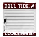 NCAA Alabama Crimson Tide Dry Erase Sticker With