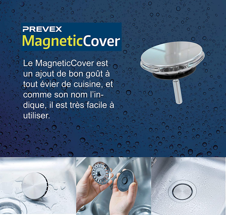 PREVEX Flexloc kit siphon gain de place universel complet pour /évier de cuisine