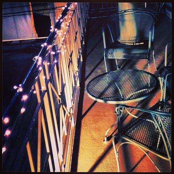 Amazon.com: Luces de Cuerda de alambre de cobre por - 120 Warm White LED - 20 pies de largo - Cuerdas de las Luces - Cuerda al aire libre Luces - Cadena ...