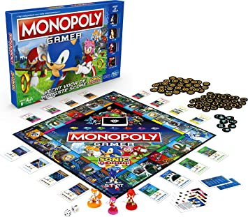 Amazon.com: Monopoly Gamer Sonic The Hedgehog Edition Juego ...