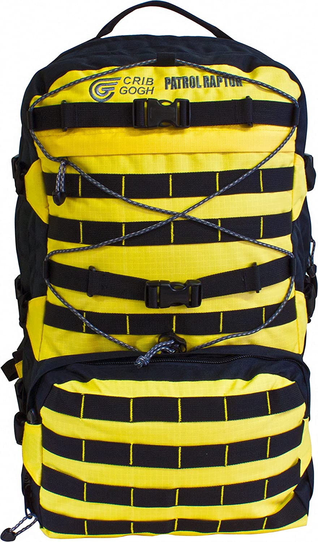 BCB Patrol Raptor Sportsbag, Gelb/Schwarz, 40 Liter