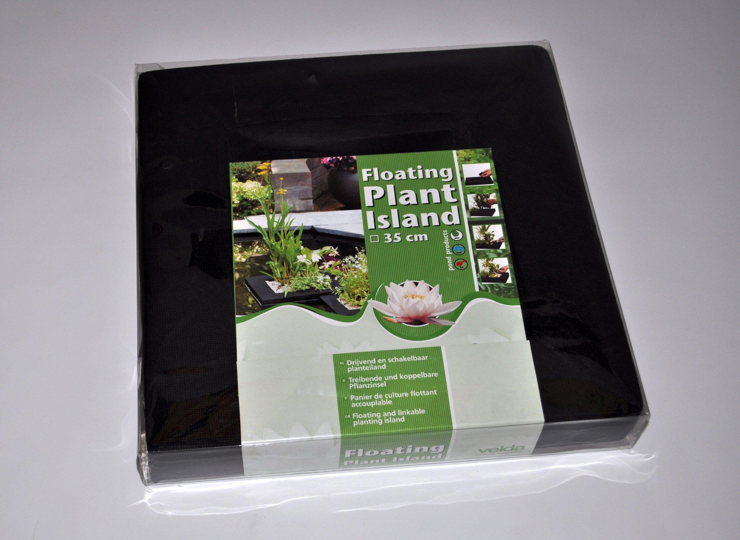 Velda Floating Fabric Pond Water Garden Plant Basket Island 35cm / 14 inch Square