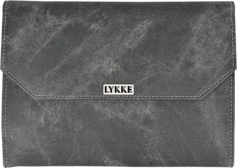 Lykke Bois flott/é interchangeable gift set en gris denim pochette