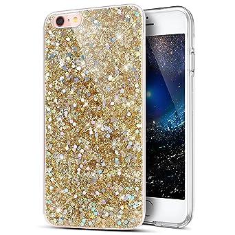 d52386828272be Kompatibel mit Hülle iPhone 8/7 Hülle,iPhone 7/8 Schutzhülle,Kristall