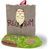 """BigMouth Inc. The """"Here's Gnomey"""" Garden Gnome - The Shining Movie Themed Weatherproof Garden Decoration, Makes a Great Gag G"""