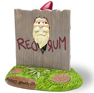 """BigMouth Inc. The """"Here's Gnomey"""" Garden Gnome - The Shining Movie Themed Weatherproof Garden Decoration, Makes a Great Gag Gift - 9"""" Tall"""
