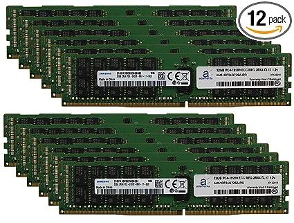 Adamanta 384GB (12x32GB) Server Memory Upgrade Compatible