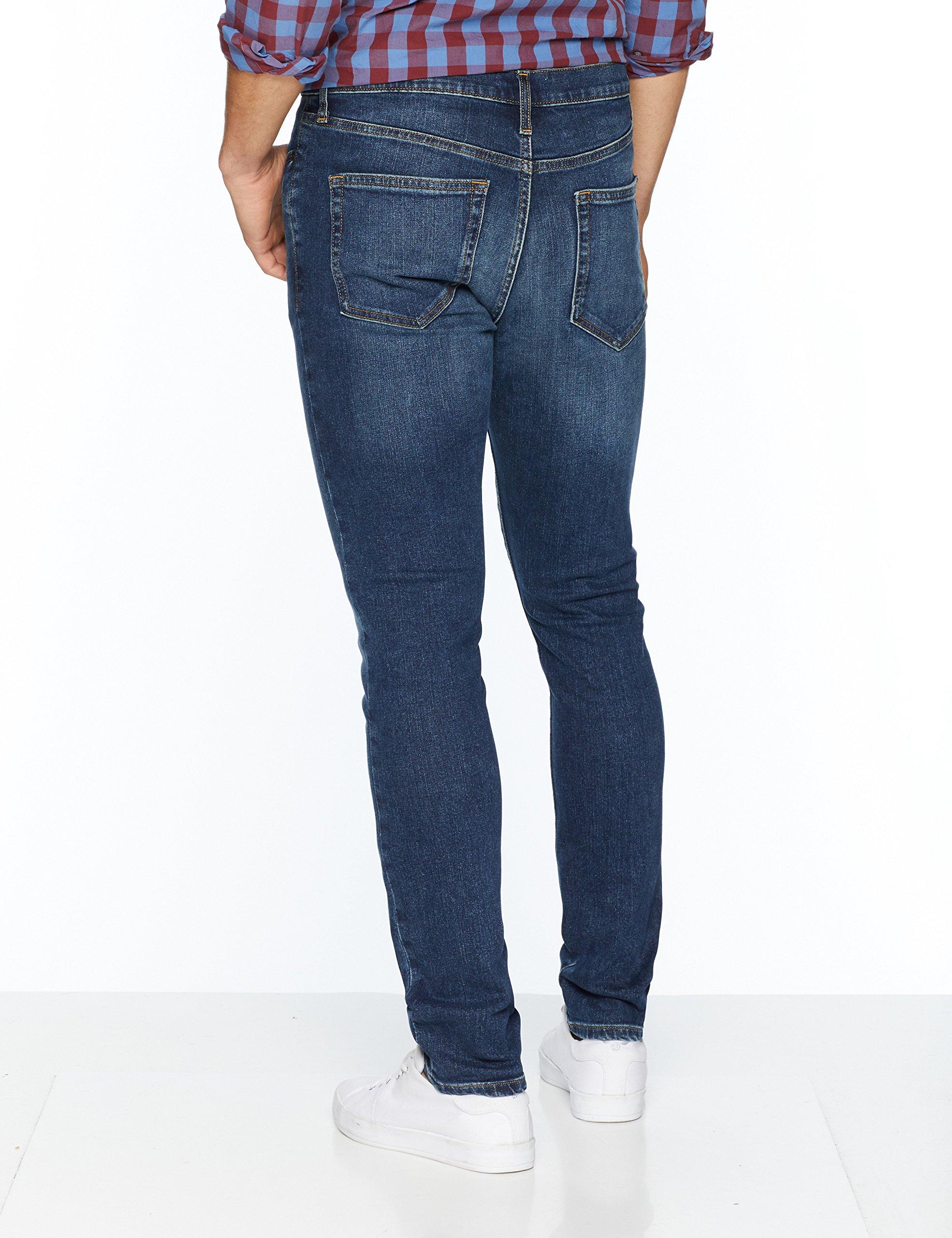 Goodthreads Men's Skinny-Fit Jean, Medium Blue, 38W x 34L by Goodthreads (Image #3)