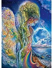 Buffalo Games 11734-Josephine Wall-The Sadness of Gaia-Glitter Edition-1000 Piece Jigsaw Puzzle