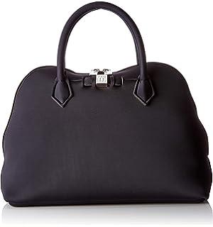 7305c9e836011e Save My Bag Princess Mini, Women's Top-Handle Bag, Black (Nero ...
