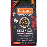 Nature's Variety Instinct Raw Boost Grain Free Recipe Natural Dry Dog Food Beef