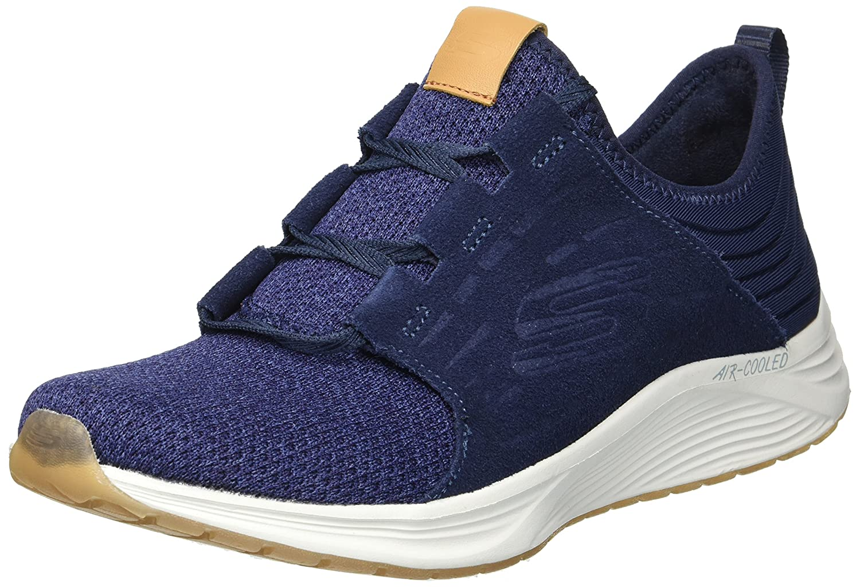 Skechers Women's Skyline Sneaker B078W98PFY 7.5 B(M) US|Navy