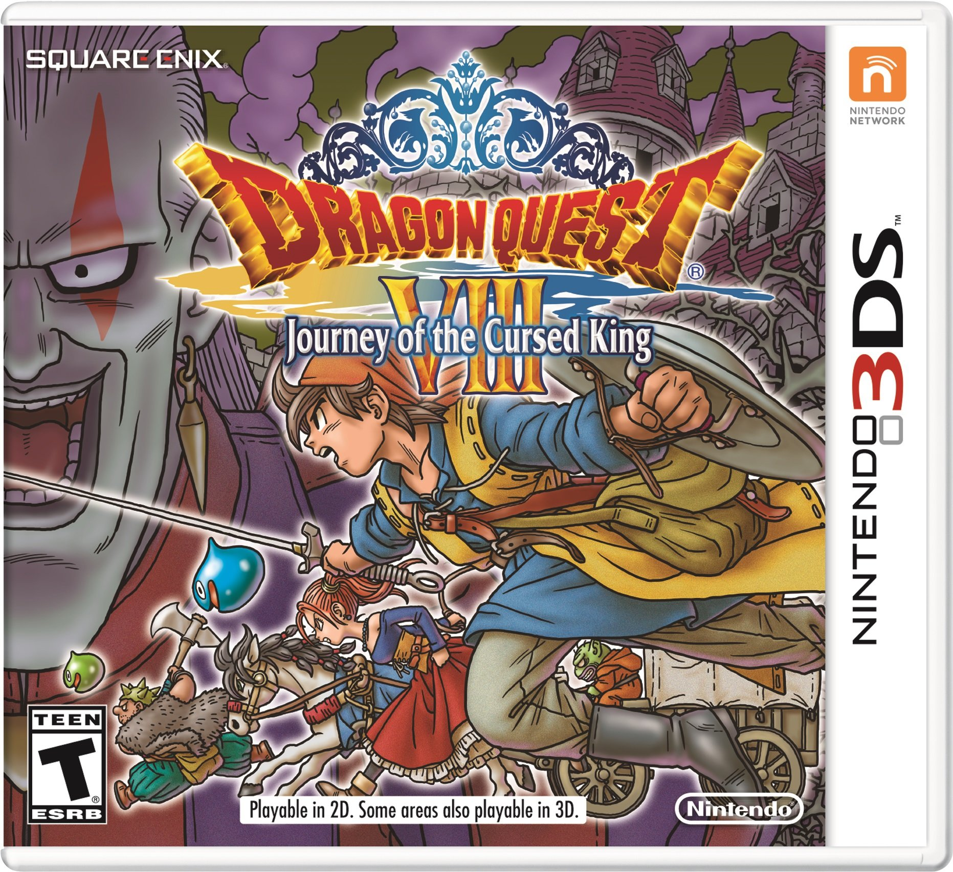 Dragon Quest VIII: Journey of the Cursed King - Preload - 3DS [Digital Code]