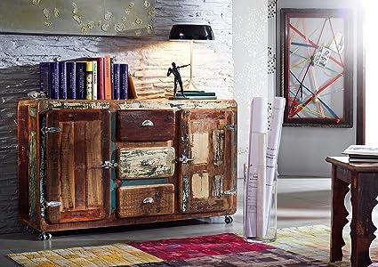 LEGNO FERRO LEGNO ANTICO mobili in legno massello credenza ...