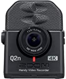 Zoom Q2n-4K Handy Video Recorder, 4K/30P Ultra High Definition Video, Compact Size, Stereo Microphones, Wide Angle Lens…