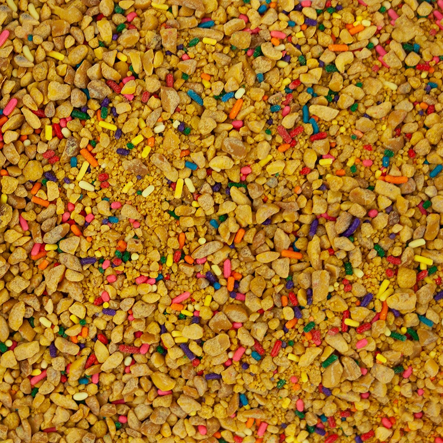 Peanut Brittle Crunch Coat Ice Cream Topping (2 lb. Resealable Zip Lock Stand Up Bag)