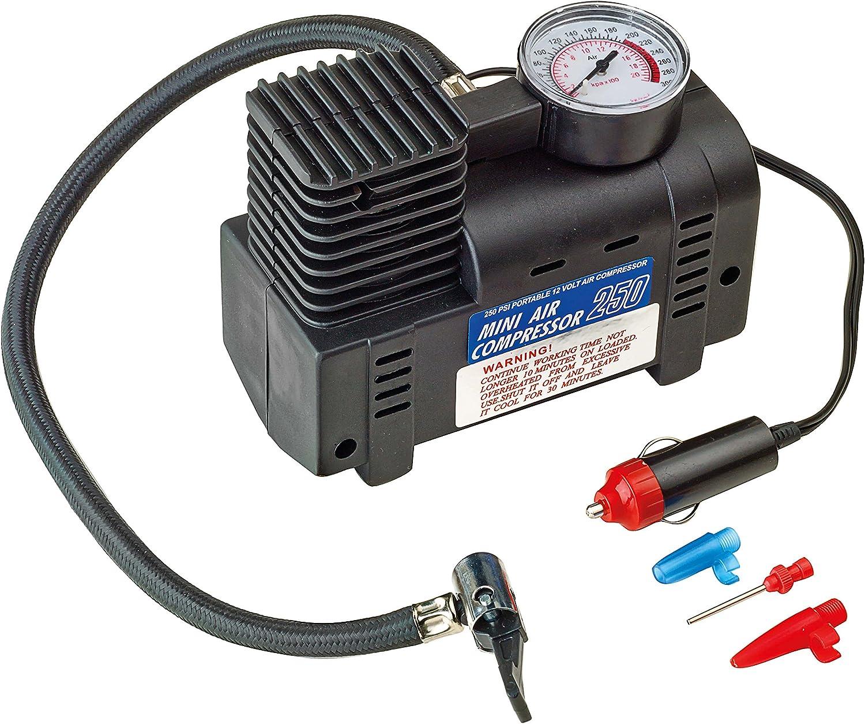 Sumex 2707012 Compresseur dair 250 psi avec Manom/ètre 270//12V
