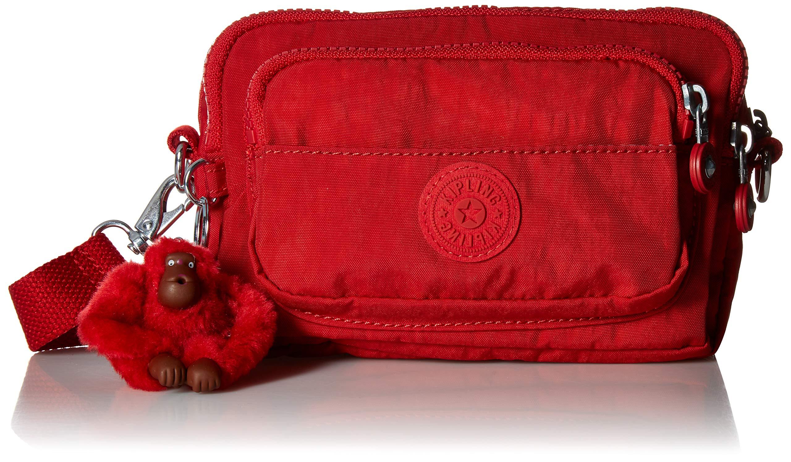 Kipling Merryl 2-in-1 Convertible Waistpack, Cherry Tonal by Kipling