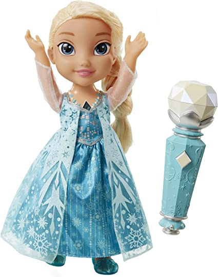 My First Disney Princess Frozen Snow Glow Elsa Singing Doll Olaf Let It Go NEW
