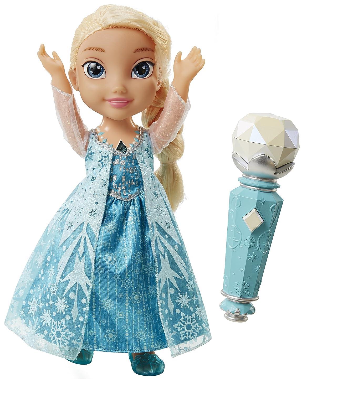 Disney Die Eisköniging – Völlig unverfroren – Singende Elsa Puppe (Englische Sprache) [UK Import] Jakks 31078