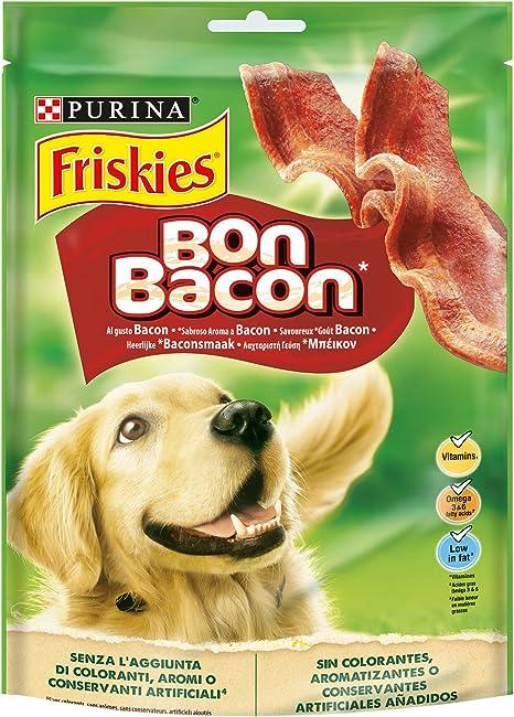 Purina Friskies Bon Bacon golosinas y chuches para perros 6 x 120 ...