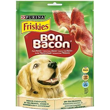 Purina Friskies Bon Bacon golosinas y chuches para perros 6 x 120 g: Amazon.es: Productos para mascotas