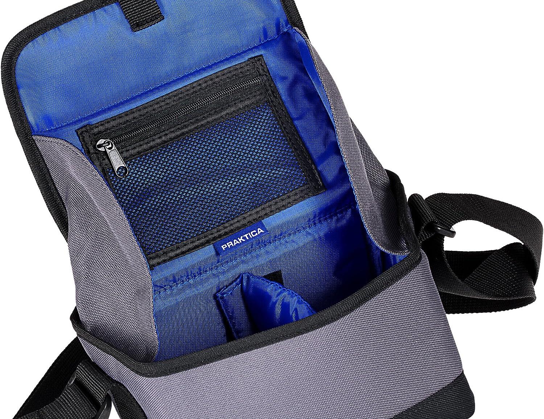 Praktica Bridge Kamera Tasche Für Z35 Schwarz Kamera