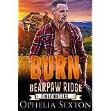 Burn: An Over 40 Shifter Romance (Bearpaw Ridge Firefighters Book 5)