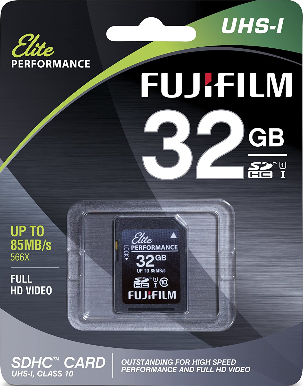 32GB Memory Card for Fuji FinePix JX520