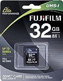 Fujifilm Elite 32GB SDHC Class 10 UHS-1 Flash Memory Card 600x / 90MB/s