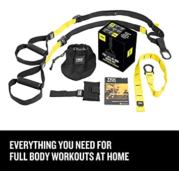 Amazon trx training suspension trainer basic kit door trx training suspension trainer basic kit door anchor complete full body workouts kit fandeluxe Image collections