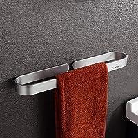 Handdoekenrek zonder boren handdoekhouder/handdoekenrek stevig handdoekrek 40cm badkamer handdoekring sterke lijm…