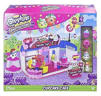 Shopkins Kinstructions Scene Pack Cupcake Cafe Building Set
