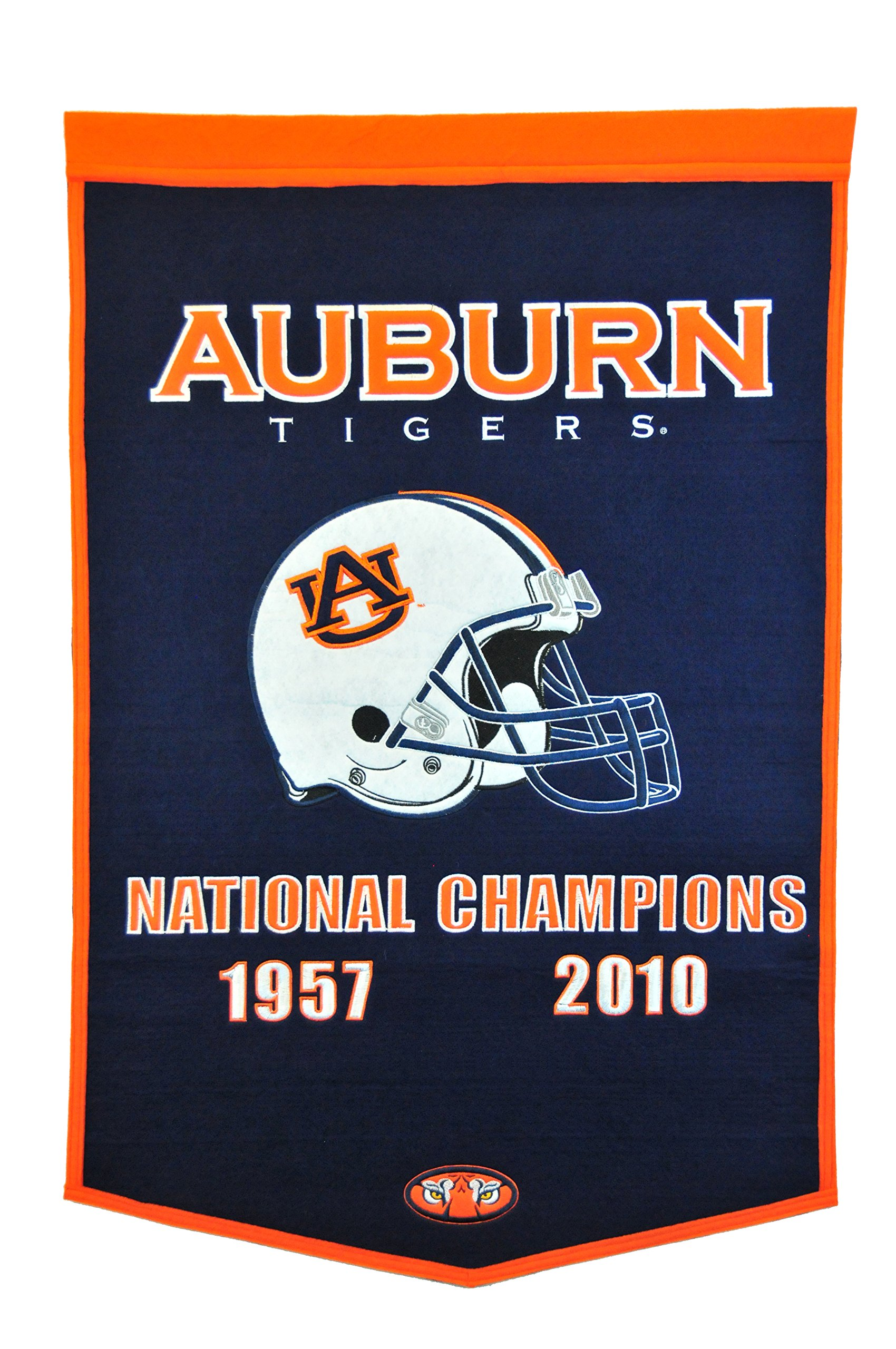 NCAA Auburn Tigers National Champion Dynasty Banner