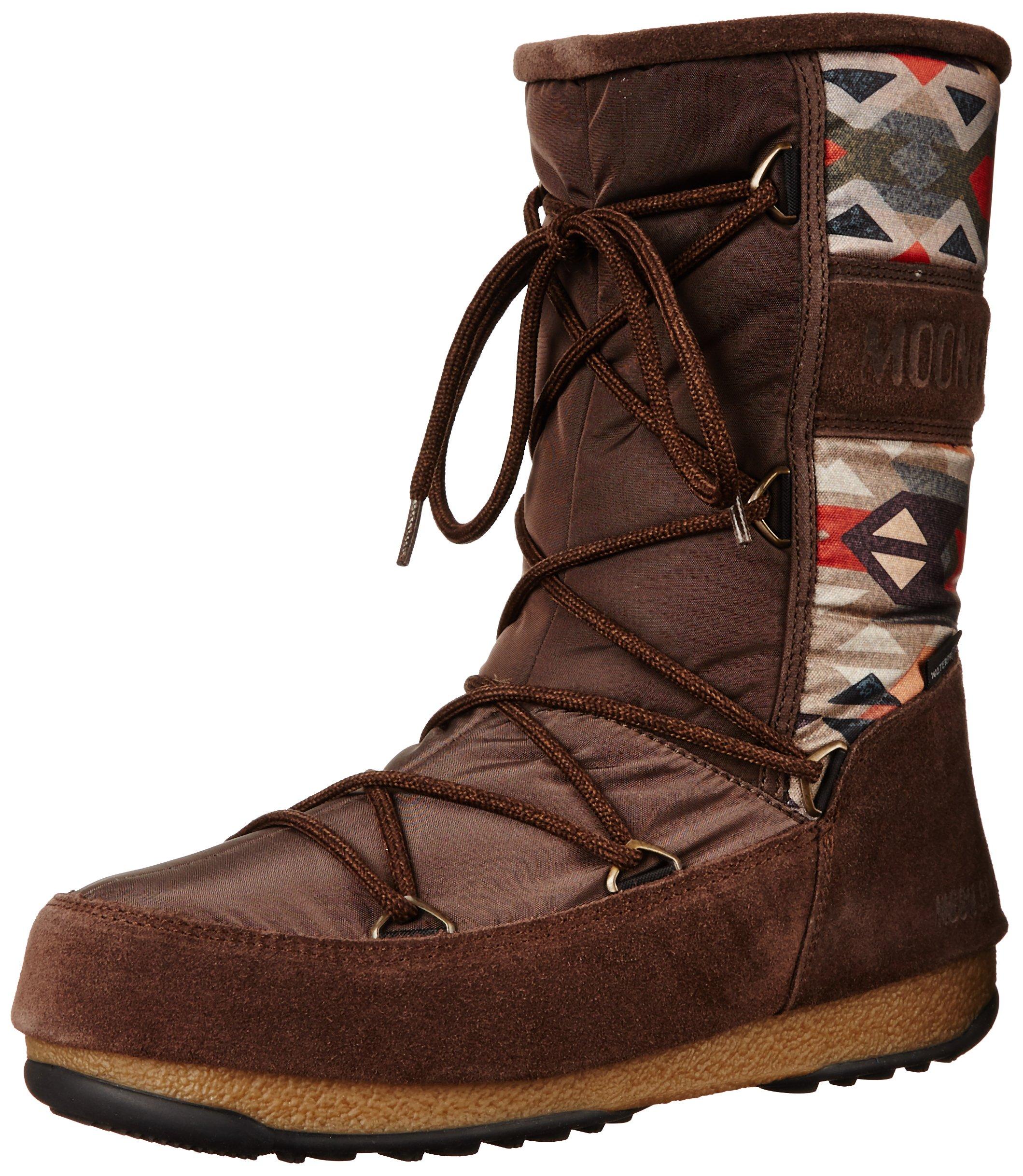 Tecnica Women's Moon We Vienna Native Winter Fashion Boot, Brown, 40 EU/8.5 M US