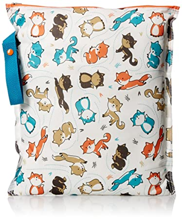 Planet Wise Lite Wet Bag, Fox Trot