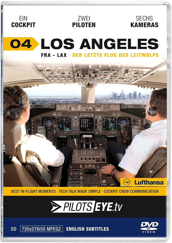 PilotsEYE.tv   LOS ANGELES  :  DVD  :  Cockpitflug Lufthansa ...