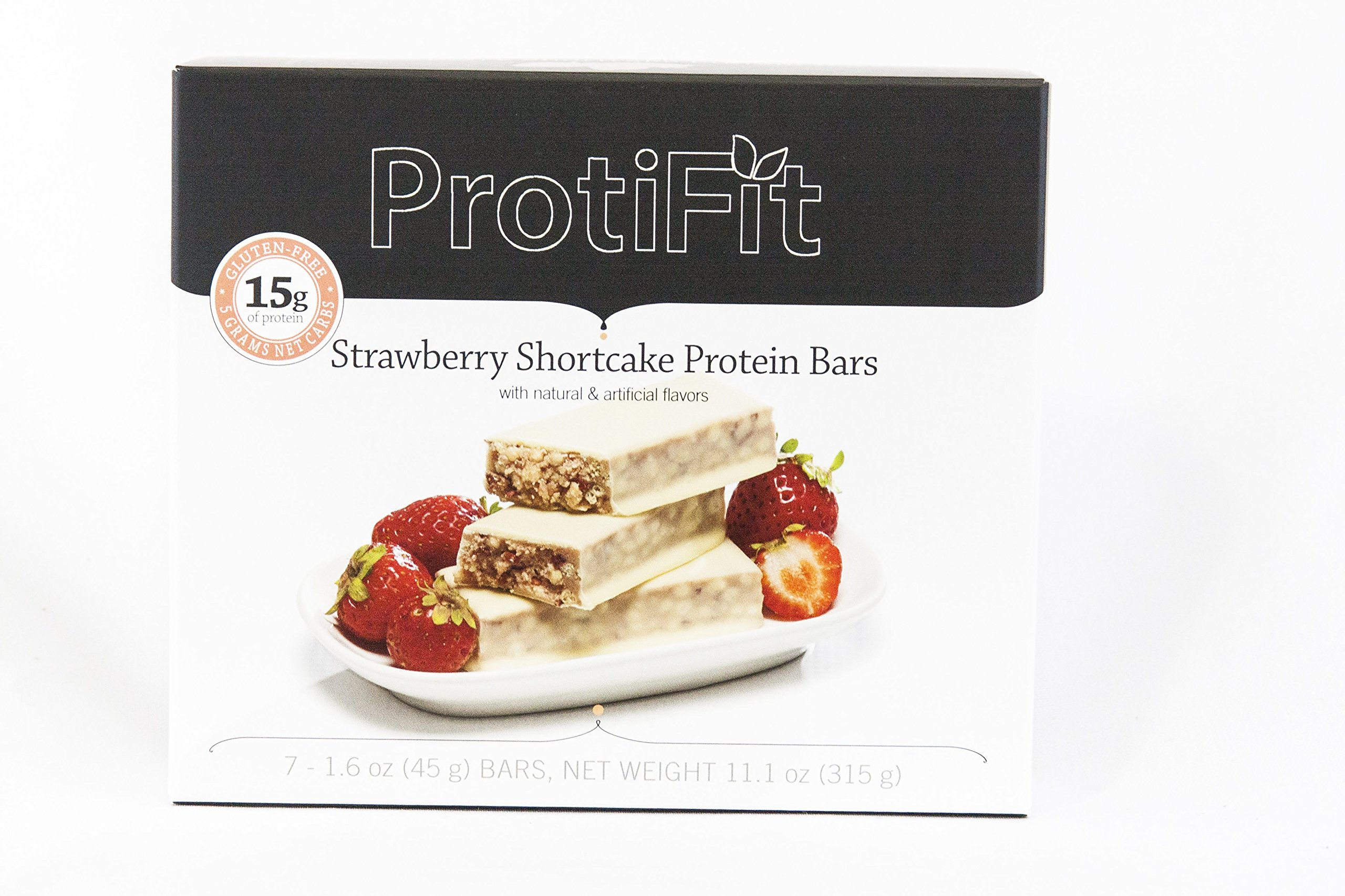 Ideal Protein Compatible Proti Fit Strawberry Shortcake High Protein Bars