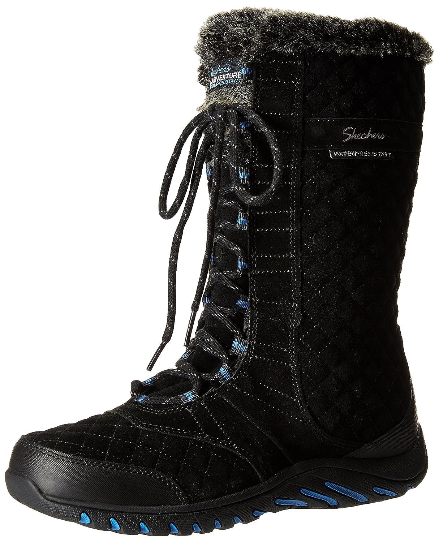 Skechers Damen Descender Desert Boots  35 EU|Schwarz (Blk Noir)