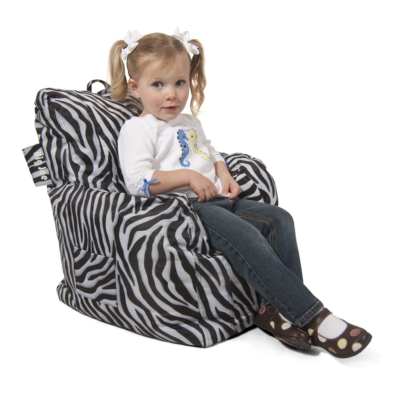 Amazon Big Joe Cuddle Chair Zebra Kitchen & Dining