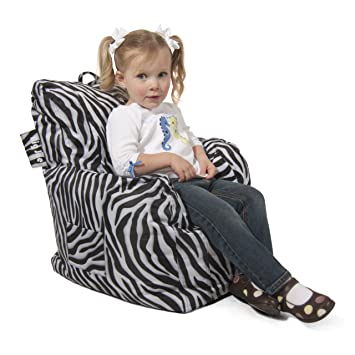 Merveilleux Big Joe Cuddle Chair, Zebra