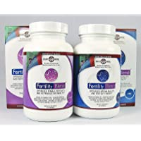 One Month Supply Each---FERTILITY BLEND Supplement for MEN (60 Tablets) and FERTILITY BLEND Supplement for WOMEN (90 Tablets)...by The Daily Wellness Co..