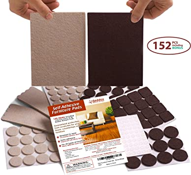 Best Floor Protectors For Your Hardwood Rubber Felt Furniture Pads 32 Pcs Self Adhesive Floor Protector Chair Pads Wood Furniture Noise Reduction Bumpers