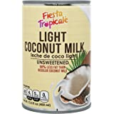 Light Coconut Milk, Low-Fat All-Natural Unsweetened 68% Less Fat BPA-Free Gluten free Dairy Free No thickeners Great for…