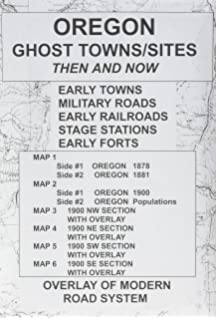 Ghost Towns In Oregon Map.Oregon Ghost Towns Lambert Florin David C Mason Amazon Com Books