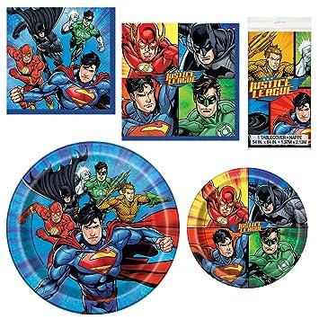 Justice League Superman Batman Green Lantern Flash Foil Birthday Party Balloon