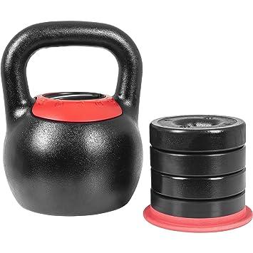 Gorilla Sports - Pesa Rusa (Pesos Ajustable 8 kg - 16 kg o 16 kg ...