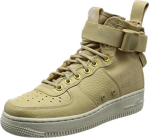 Nike SF Air Force 1 MID Womens Shoes MushroomLight Bone