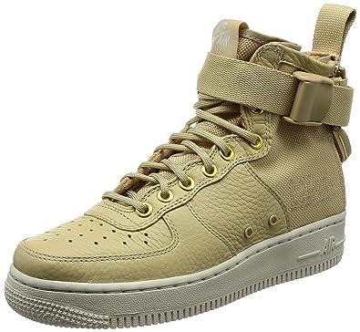 newest 91dea fb0ca ... norway nike sf air force 1 mid womens shoes mushroom light bone  champignon aa3966 200 c8a1d